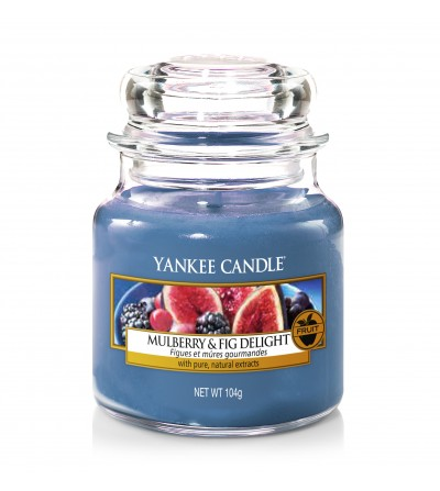 Mulberry & Fig Delight  - Giara Piccola Yankee Candle