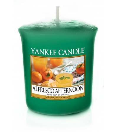 Alfresco Afternoon - Candela Sampler Yankee Candle