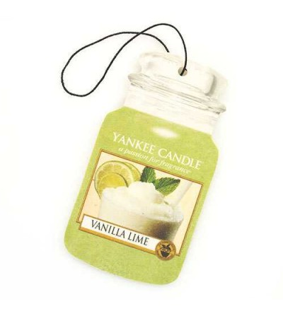 Vanilla Lime - Car Jar Yankee Candle