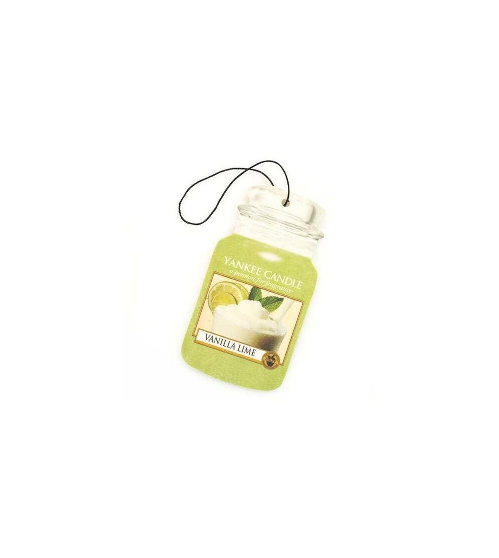 Vanilla Lime - Car Jar Yankee Candle