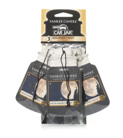 Midsummer's Night® - Car Jar 3pack Yankee Candle